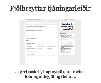 Fjölbreyttar tjáningarleiðir